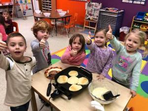 Class D pancakes